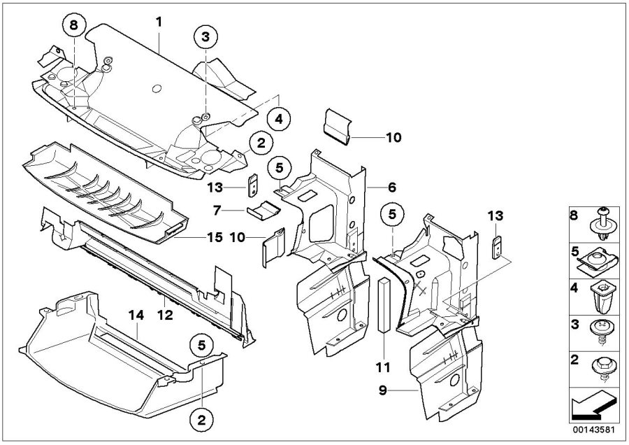 2000 bmw 323i engine compartment diagram
