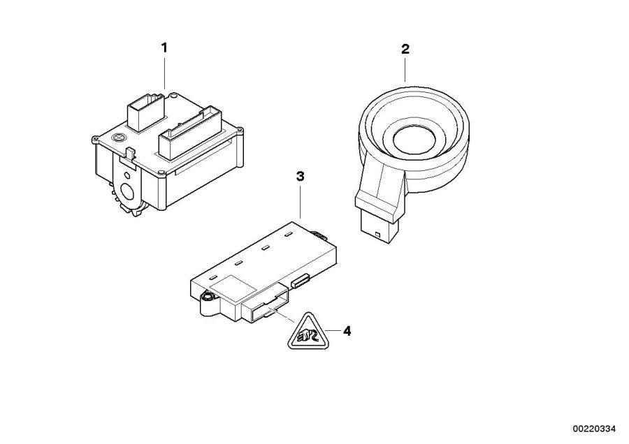 bmw m6 control unit cas cas3 electrical system switch. Black Bedroom Furniture Sets. Home Design Ideas