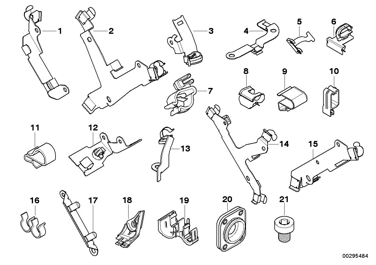 bmw 328i radiator parts diagram