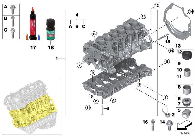 83190439030 bmw liquid sealant loctite 193140 6ml