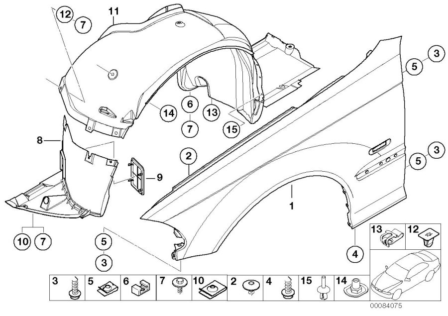 1998 Bmw 328i Body Parts Diagram Com