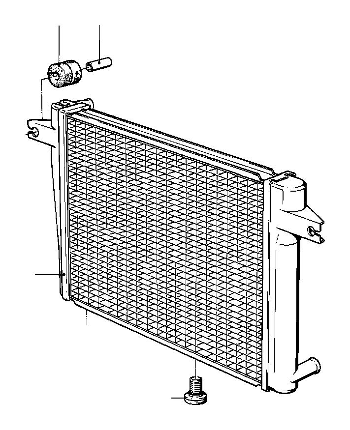 17112226018 - BMW Radiator. Cooling